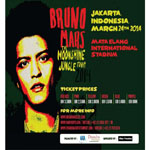 BRUNO MARS THE MOONSHINE JUNGLE TOUR 2014